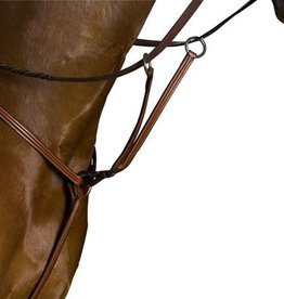 Lamprey Kincade Running Martingale, Brown - Cob