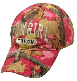Cowgirl Tough Camo Baseball Cap