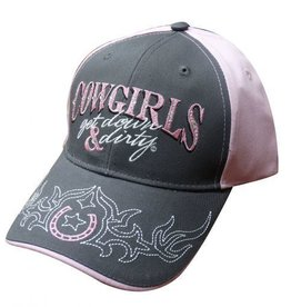Cowgirls Get Down & Dirty Ball Cap