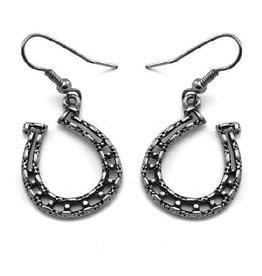 WEX Earrings - Silver Horseshoe