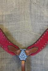 Alamo New Wave Breastcollar Red Horse
