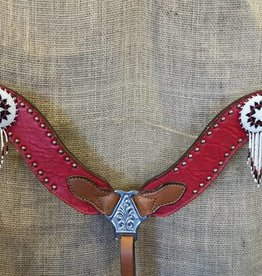 Alamo Saddlery New Wave Breastcollar Red Horse