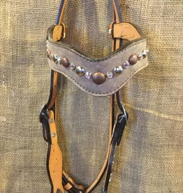 Alamo Saddlery New Wave Headstall Copper Horse