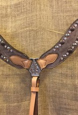 Alamo Saddlery New Wave Breastcollar Copper Horse