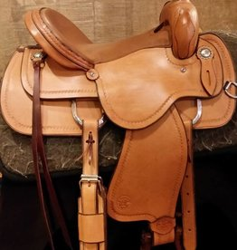 "Circle L Circle L 15"" Pleasure / Trail Saddle, L.Oil - FQHB"