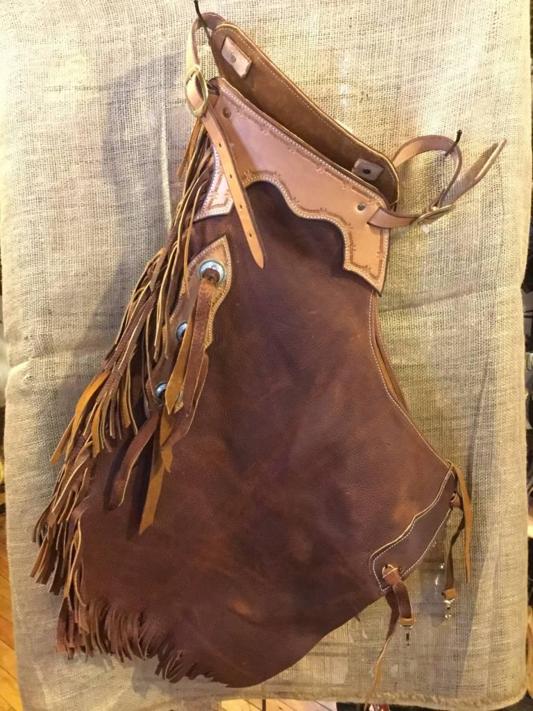 Circle L Circle L U.S.A. Made Leather Chinks