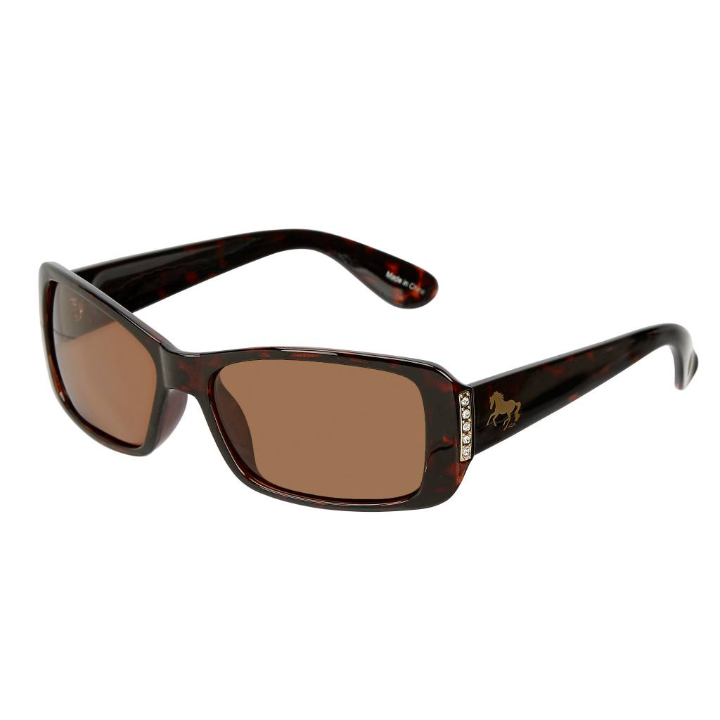 AWST International Polarized Sunglasses w/ Horse Detail