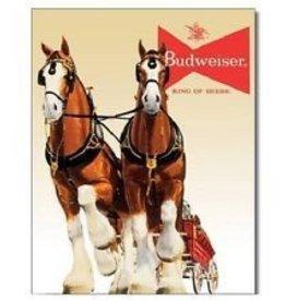 Budweiser King of Beers Metal Sign