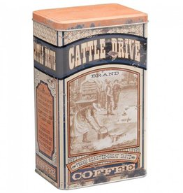 Tough-1 Cattle Drive Coffee Tin