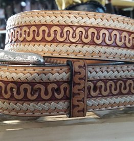 Twisted X, Inc Adult - Twisted X Serpent Tooled Belt