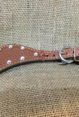 Alamo Saddlery Spur Straps Med Oil Ladies