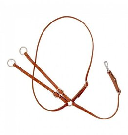 JT International Harness Leather Martingale
