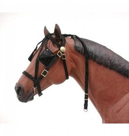 JT International Mini-Driving Bridle w/Overcheck