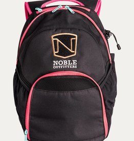 Noble Outfitters Noble Brand Backpack - Black & Pink