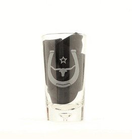 M & F Western Products Tumbler - Steerhead, Large Glasses, 4-pc - 16.5oz
