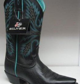 Justin Boots Women's Justin Black Deercow Boots - 179.95 @ 20% Off!!