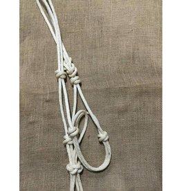 Lamprey Waxed Rope Halter - Horse