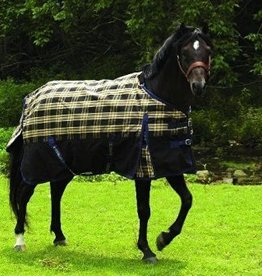 JPC Equestrian Tuffrider 600D Plaid Pony Turnout Sheet  60