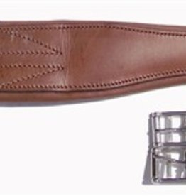 Thornhill Shannon Leather Girths, Havana