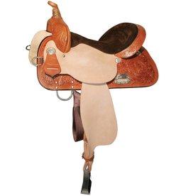 Circle Y of Yoakum Circle Y High Horse - Proven Liberty Barrel Saddle