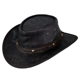 Outback Trading Company LTD Outback Iron Bark Leather Hat