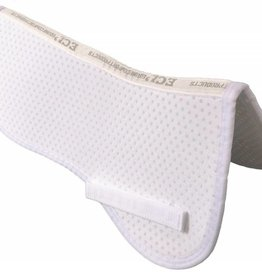 Equine Comfort Products ECP Air Ride Close Contact Half Pad - White