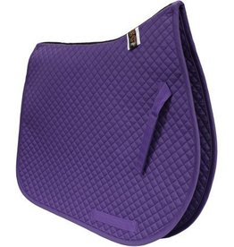Equine Comfort Products ECP Cotton All Purpose Saddle Pad Violet