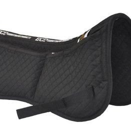 Equine Comfort Products ECP Cotton Correction Half Pad Black