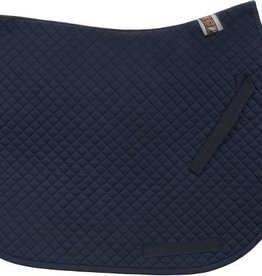 Equine Comfort Products ECP Cotton All Purpose Saddle Pad Navy Blue