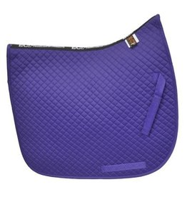 Equine Comfort Products ECP Cotton Dressage Saddle Pad Purple