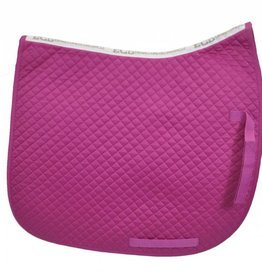 Equine Comfort Products ECP Cotton Dressage Saddle Pad Rose