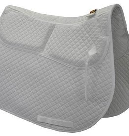 Equine Comfort Products ECP Cotton A/P Pad w/Memory Foam White
