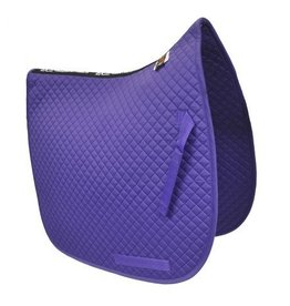 Equine Comfort Products ECP Cotton Dressage Saddle Pad - Violet