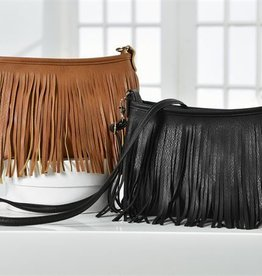 Giftcraft Inc. Handbag - Fringe Messenger Style