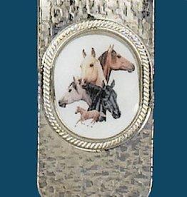 WEX Money Clip - Horseheads