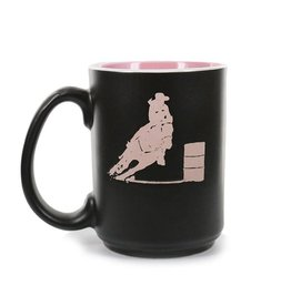 M & F Western Products Coffee Mug - Barrel Racer