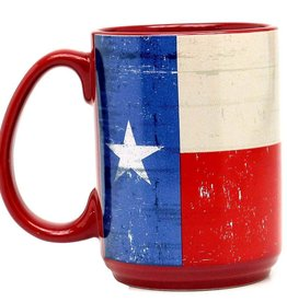 M & F Western Products Coffee Mug - Texas Flag - 16oz