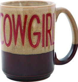 M & F Coffee Mug - Cowgirl - 16oz