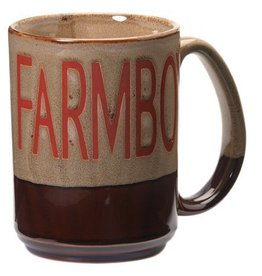M & F Western Products Coffee Mug - Farmboy - 16oz