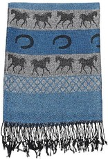 AWST International Scarf - Galloping Horse Fashion