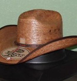 Milano Hat Co., Inc. Justin Bent Rail Buck Up Straw Hat 7 3/8