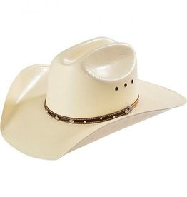 Milano Hat Co., Inc. Justin 10X Parker Western Hat Straw 7