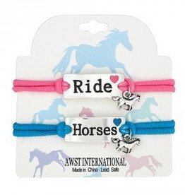 Bracelet - Stretchy, Ride Horses