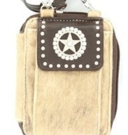 "M & F Western Products Cell Phone Case - iPhone Wallet, Brown - 3.5""x5.5"""