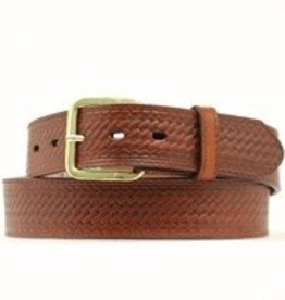 M & F Western Products Adult - Leather Scalloped Belt, Various Sizes
