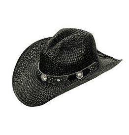 M & F Western Products Double S Straw Hat