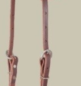 EquiBrand Martin Slip-Ear Headstall, D.Oil, U.S.A. Made