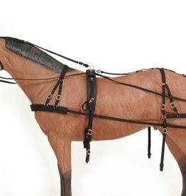 Tough1 Challenger Deluxe Nylon Harness - Pony