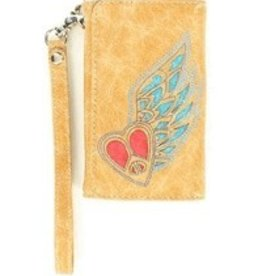 M & F Cell Phone Case - iPhone 4, Wallet