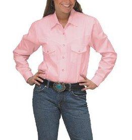 Western Express Women's Western Shirt Pink, Small - SALE $15
